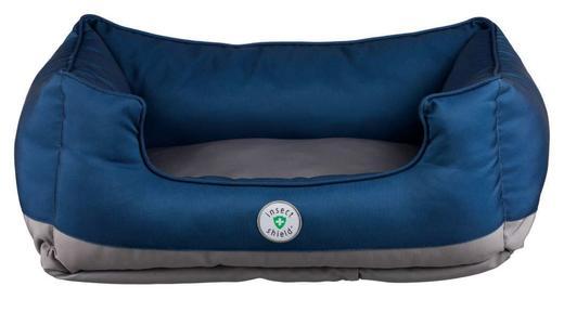 Trixie Insect Cuccia Blu Per Cani 65x50 cm Con Repellente Contro Zecche Pulci Zanzare