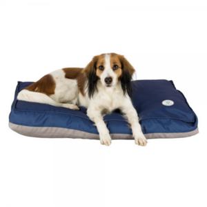 Trixie insect Shield Materasso Cuccia Per Cani 60x40 Blu Sfoderabile Cuscino