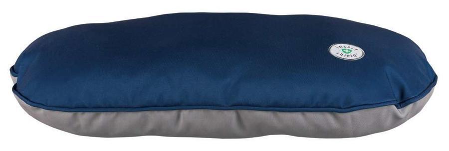 Trixie insect Shield Cuccia Blu Sfoderabile Cuscino Per Cani 110x70 XL Materasso