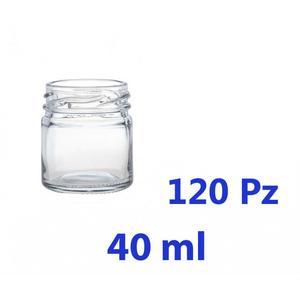 Vasetto in Vetro CEE Standard 41 gr Confezione da 120 pz