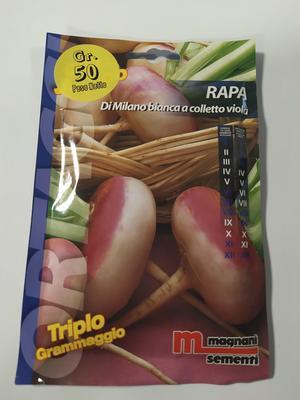Rapa di Milano a Colletto Viola 50 gr