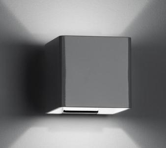 Lampada da Parete Bijou di Fabbian in Metallo con Due Tagli di Luce Larghi, Varie Finiture - Offerta di Mondo Luce 24
