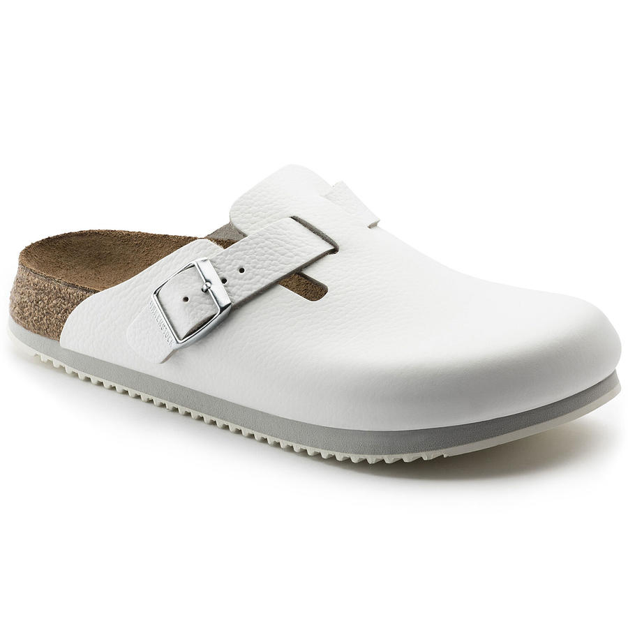 Birkenstock - Boston SL - White