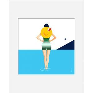 BAHAR DIGIGRAFIA CERTIFICATA E NUMERATA 40X50 cm: SEA