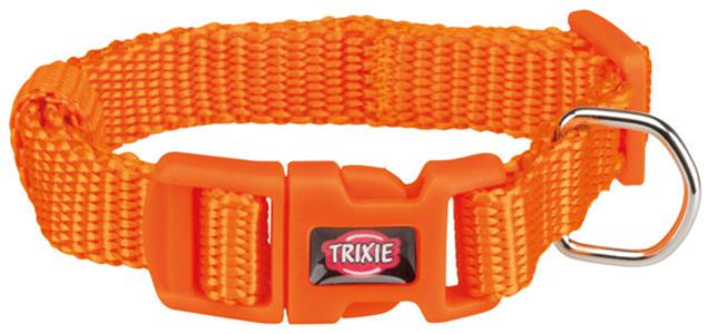 Trixie Collare Per Gatti e Cani Piccola taglia Cuccioli Arancione XXS Regolabile 15-25cm