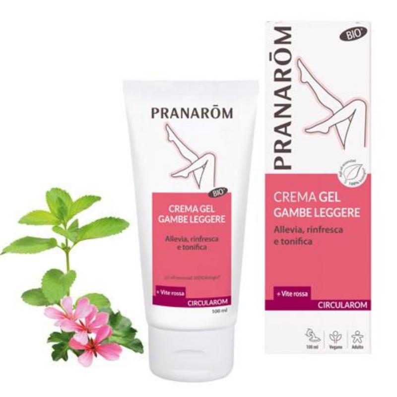 Pranarom - Circularom Cremagel gambe leggere bio