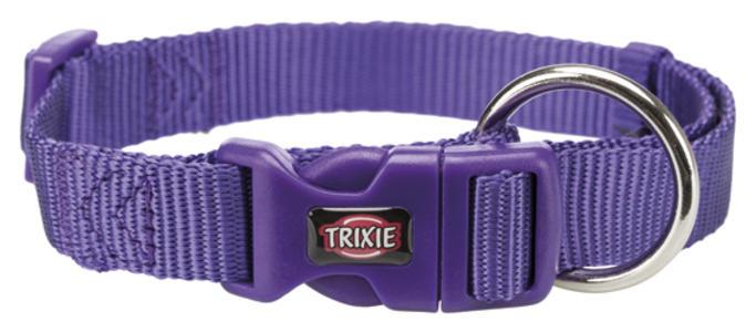 Trixie Collare Per Gatti e Cani Piccola taglia Cuccioli Viola XXS Regolabile 15-25cm