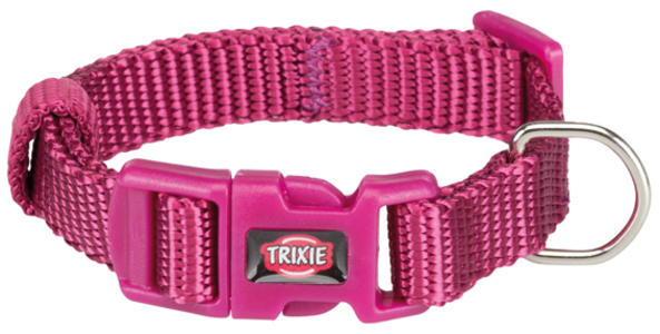 Trixie Collare Per Gatti e Cani Piccola taglia Cuccioli Viola Chiaro XXS Regolabile 15-25cm
