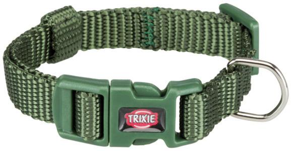 Trixie Collare Per Gatti e Cani Piccola taglia Cuccioli Verde militare XXS Regolabile 15-25cm
