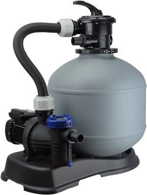 Pompa a sabbia BWT SHOTT da 10000 m3 / 85 lt Sistema per filtrazione piscina Pompa a sabbia per piscina professionale made in italy PPF85/19000WP