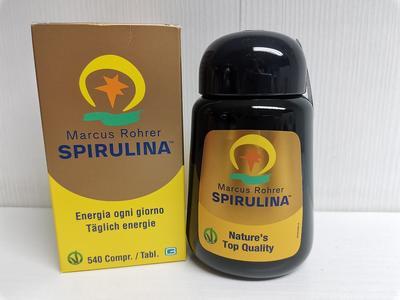 SPIRULINA ® Marcus Rohrer 540 compresse