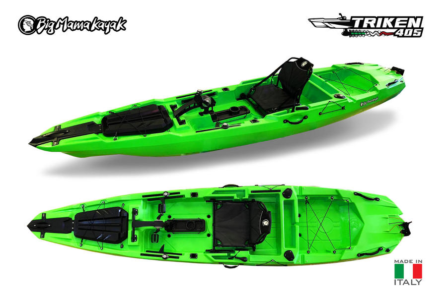 TRIKEN 405 - KAYAK A PEDALI CON ELICA - MADE IN ITALY