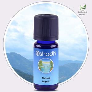Oshadhi - Noce moscata olio essenziale bio