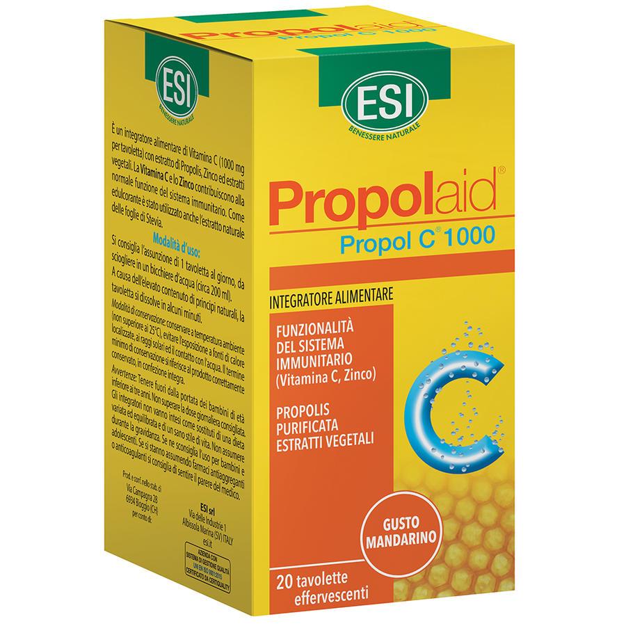 Copia di ESI - Propolaid Propol C 500 mg