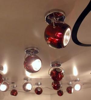 Lampada da Soffitto/Parete Fissa Beluga Colour di Fabbian con Diffusore in Cristallo Orientabile e Struttura in Cromo, Varie Finiture - Offerta di Mondo Luce 24