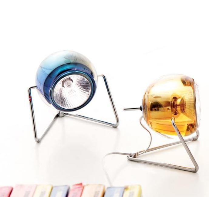Lume Beluga Colour di Fabbian con Diffusore in Cristallo Orientabile e Struttura in Cromo Lucido, Varie Finiture - Offerta di Mondo Luce 24