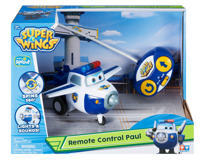 Super Wings Paul Radiocomandato - Alpha Group 710750 - 3+ anni