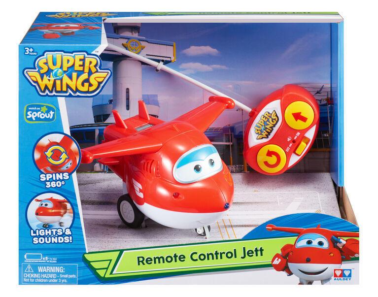 Super Wings Jett radiocamandato - Alpha Group 710710 - 3+ anni