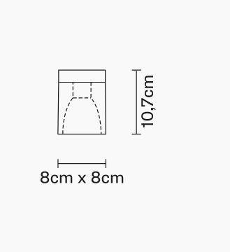 Lampada da Soffitto Cubetto di Fabbian con Diffusore in Cristallo Sabbiato Internamente e Struttura in Cromo, Varie Finiture - Offerta di Mondo Luce 24