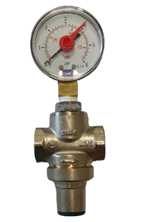 Riduttore di pressione acqua con manometro