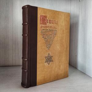 De Divina Proportione - Luca Pacioli, con disegni di Leonardo da Vinci