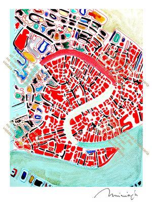 Canal Grande laguna verde (1972-2010)