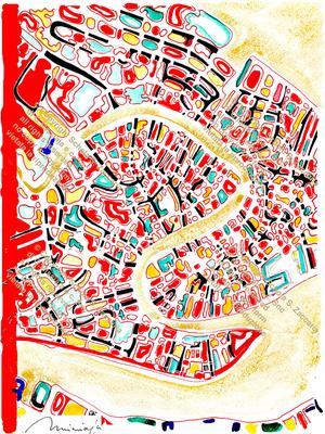 Interpretazione Canal Grande Rosso lato (1972-2010)