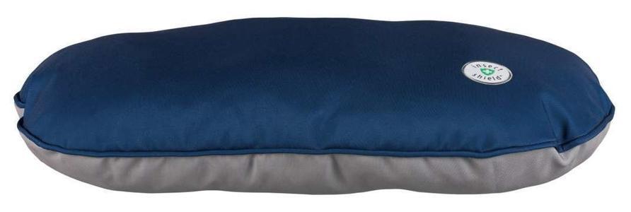 Trixie insect Shield Cuccia Blu Cuscino Per Cani 95x60 XL Sfoderabile Materasso