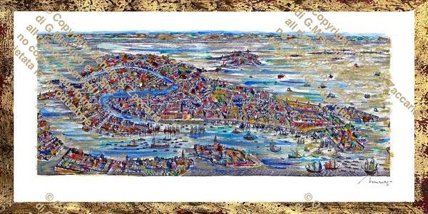 Interpretazione di Venezia multicolor