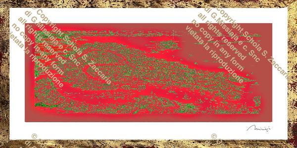 Interpretazione di Venezia rossa