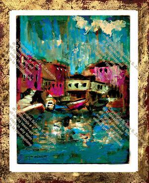 Squero veneziano (1961)