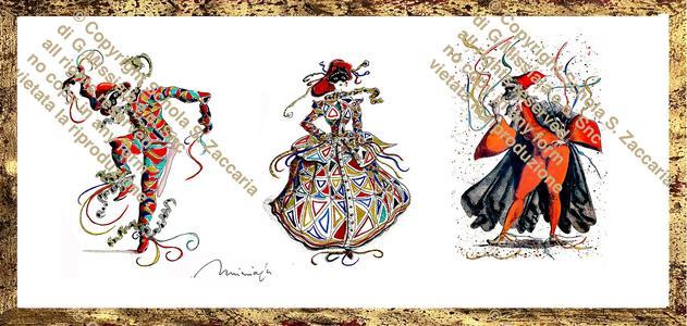Tre maschere veneziane (1980)
