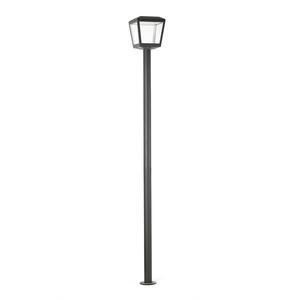 PLAZA LAMPIONE GRIGIO SCURO LED 18W 3000K
