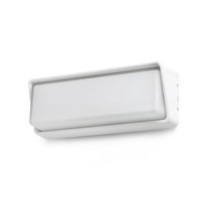 HALF LAMPADA DA PARETE BIANCA LED 20W 3000K