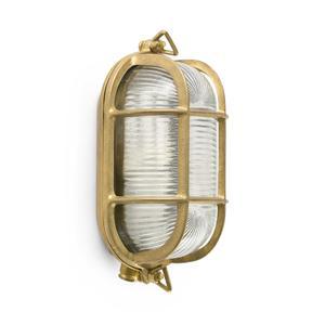 CABO LAMP. PARETE OTTONE E27 20W