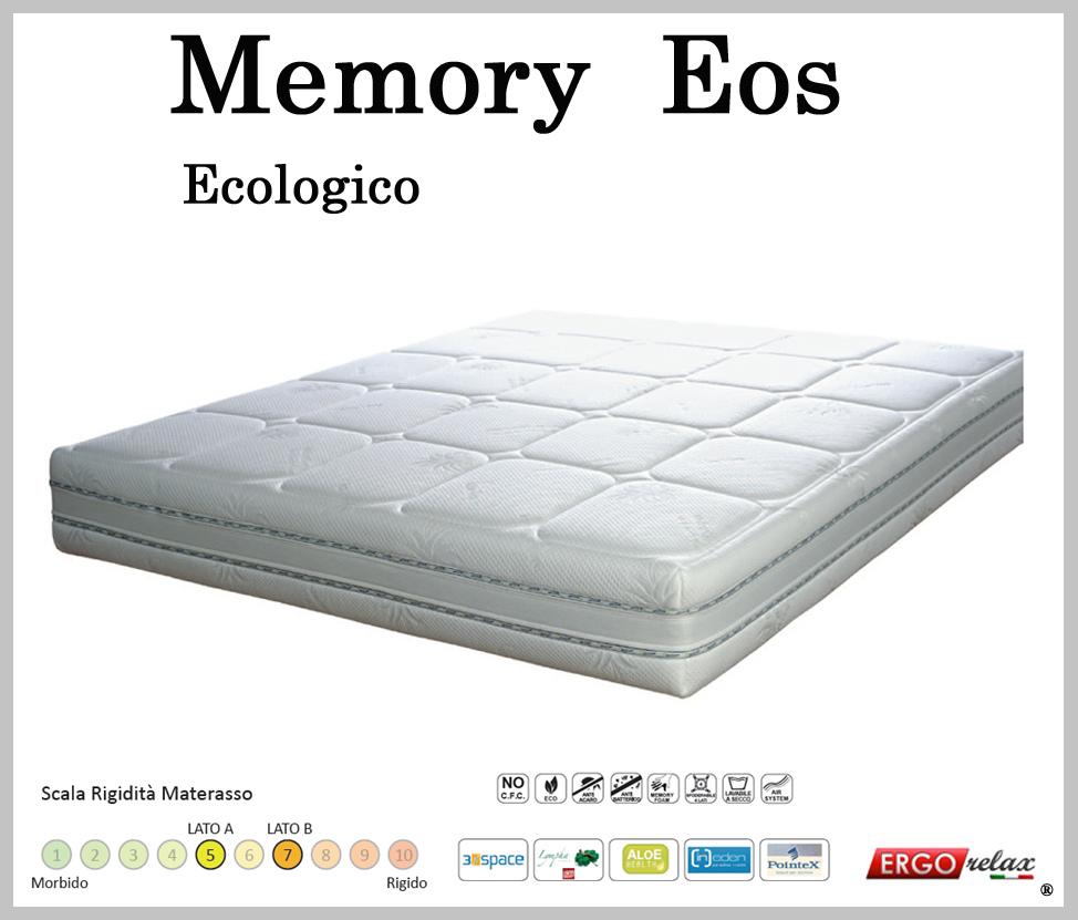 Materasso Memory Mod. Eos Matrimoniale 160 Sfoderabile in Aloe ...
