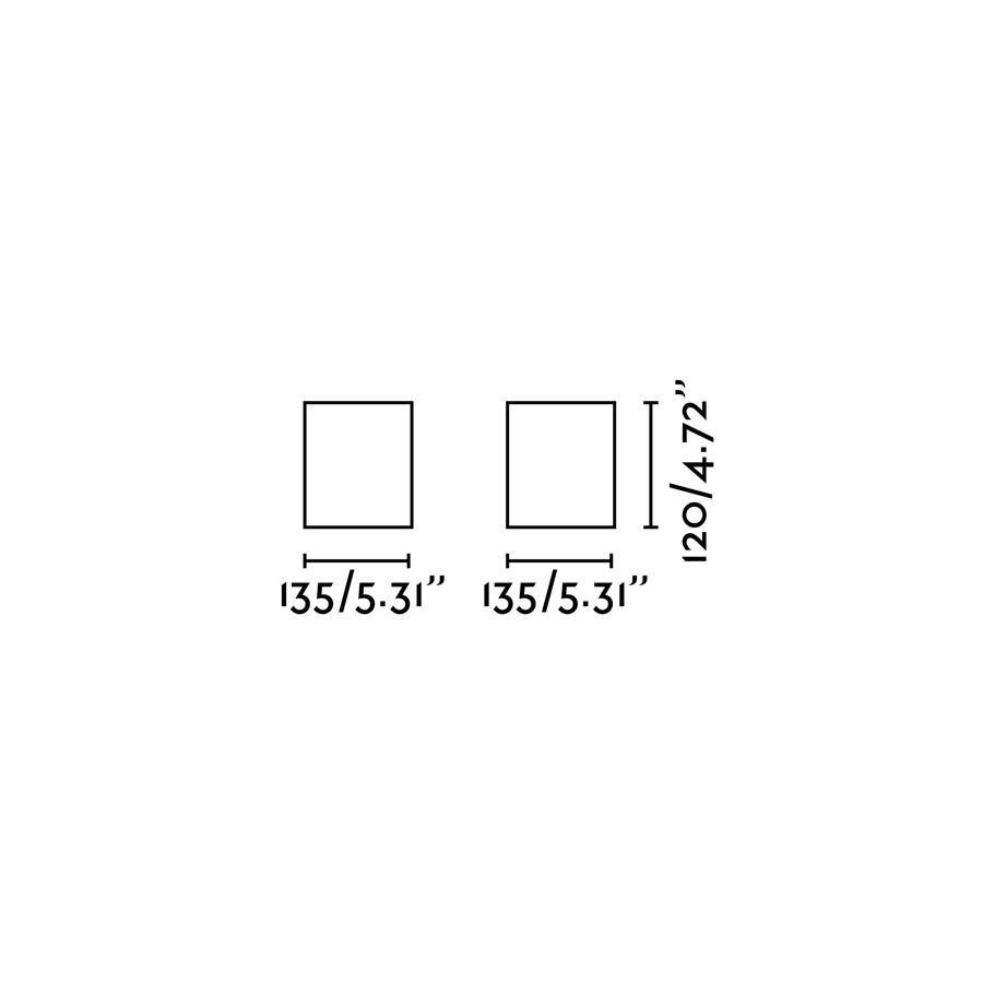 TECTO PLAFONIERA NERO 1XAR111 50W