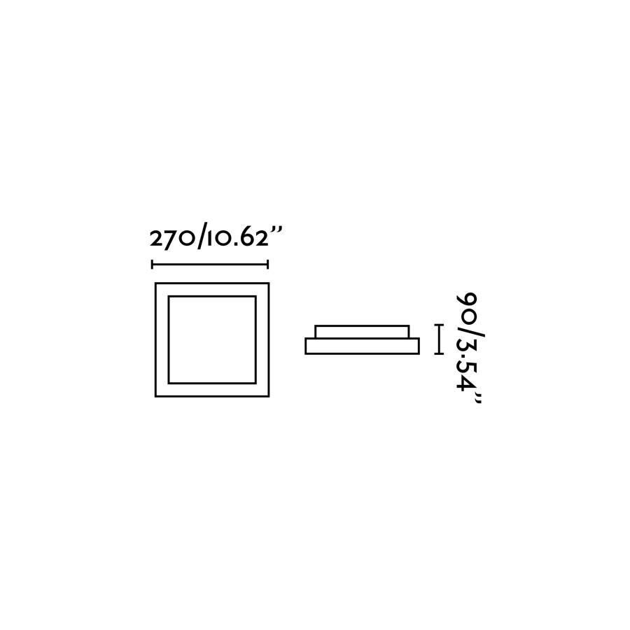TOLA-1 LAMPADA PLAFONIERA BIANCO 1 X E27 20W