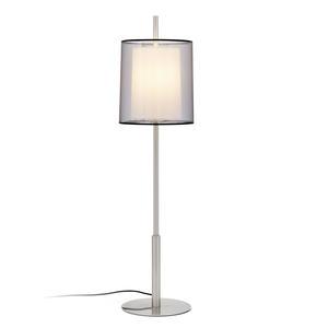 SABA LAMPADA DA TAVOLO NICHEL OPACO 1 X E27 40W H8