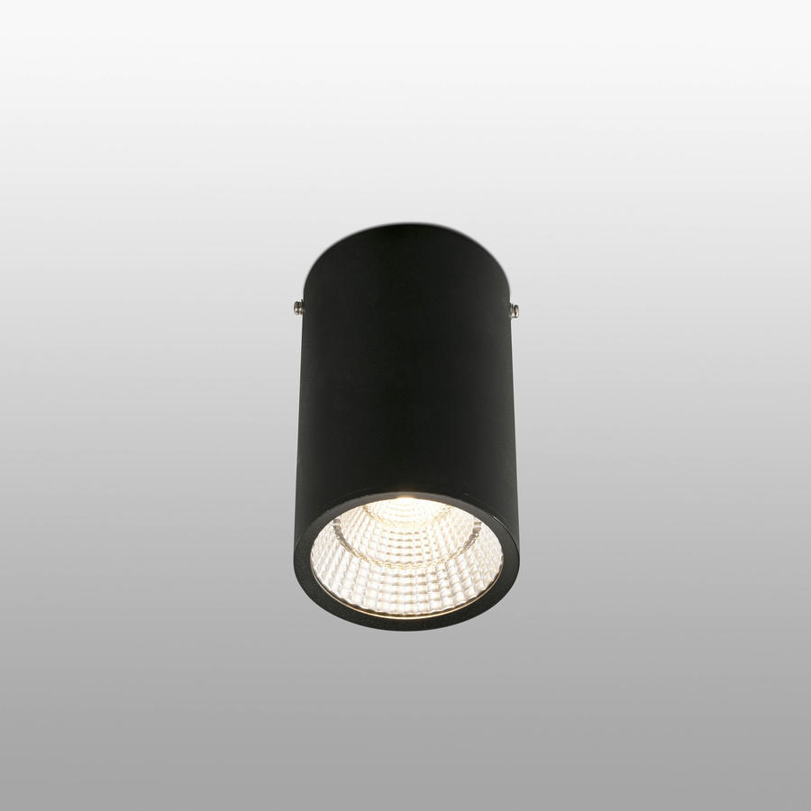 REL PLAFONIERA NERO LED 25W 2700K 60°