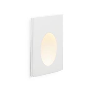 PLAS-1 INCASSO BIANCO 1 LED 1W 3000K