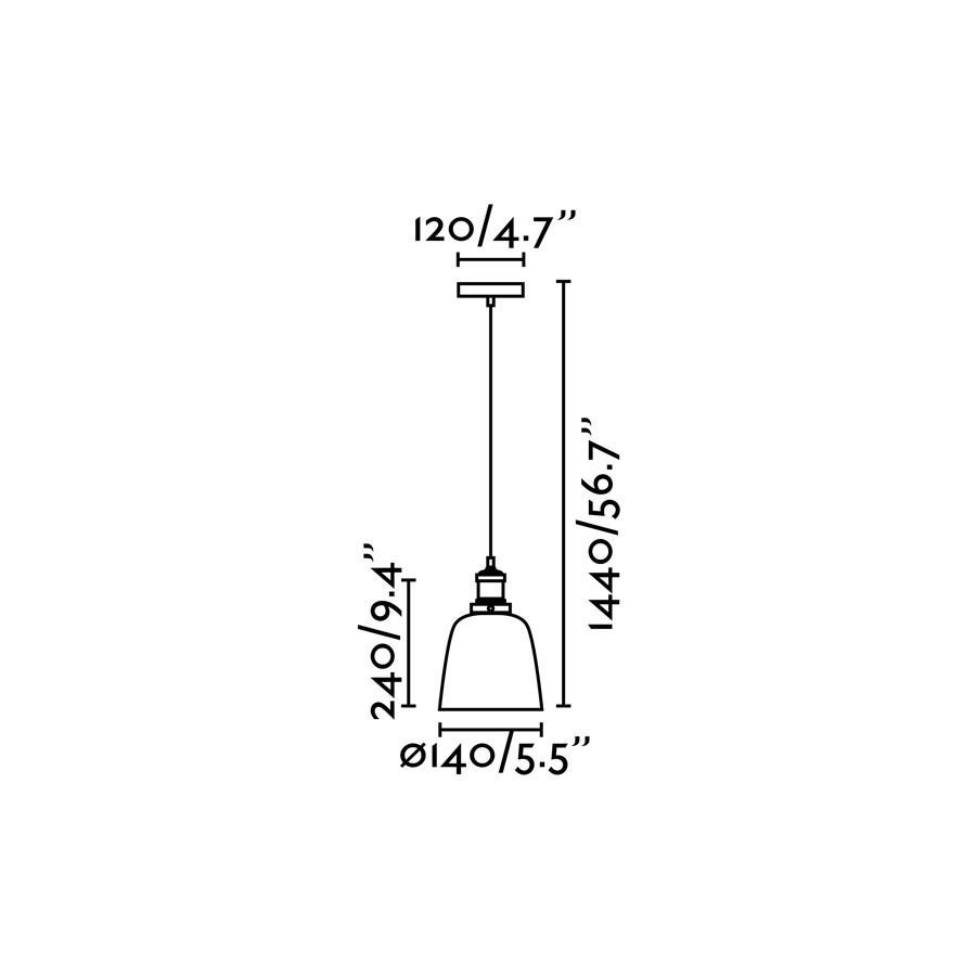 LIZ-2 LAMPADA SOSPENSIONE TRASPARENTE