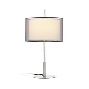 SABA LAMPADA DA TAVOLO NICHEL OPACO 1 X E27 40W H5