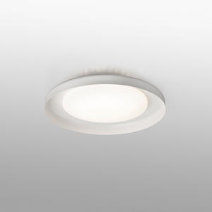 DOLME PLAFONIERA BIANCA Ø400 LED 24W