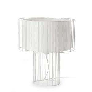 LINDA LAMPADA DA TAVOLO BIANCO 1 X E27 100W