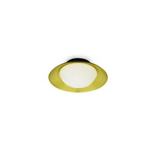 SIDE LED PLAFONIERA NERA E ORO G9