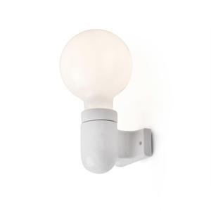 SERA LAMPADA DA PARETE BIANCA 1L E27