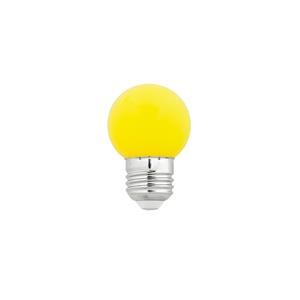 LAMPADINA G45 GIALLO E27 1W LED