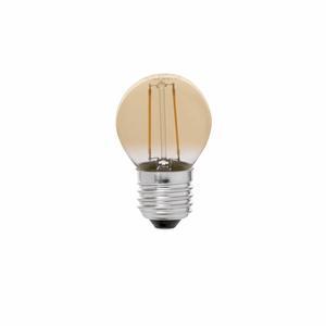 LAMPADINA DECORATIVA G45 FILAMENTO AMBRA LED E27 2