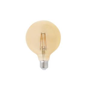 LAMPADINA GLOBO FILAMENTO LED AMBRA E27 5W 2200K D